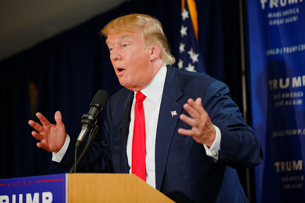 Donald Trump skyller skolskjutning på film och spel
