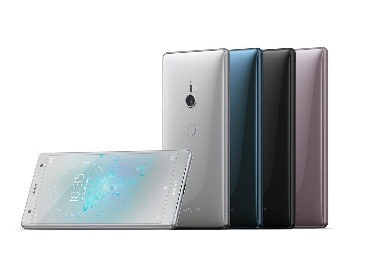 Här är Sony Xperia XZ2 och XZ2 Compact