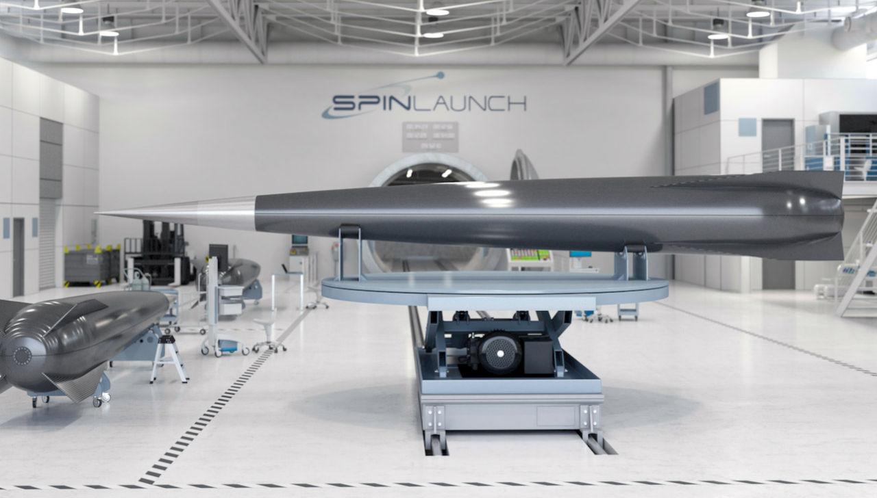 SpinLaunch vill skicka grejer till rymden med en katapult