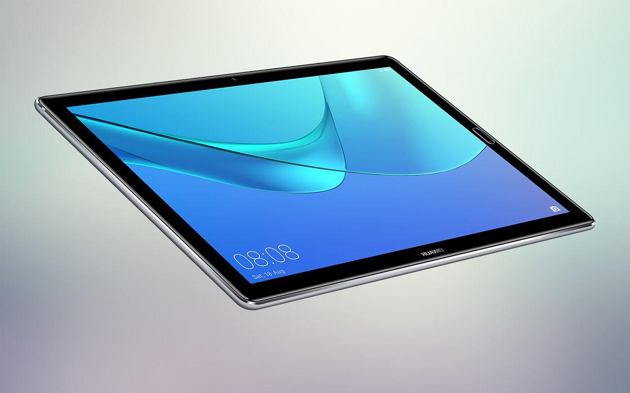 Huawei visar upp tableten  MediaPad M5