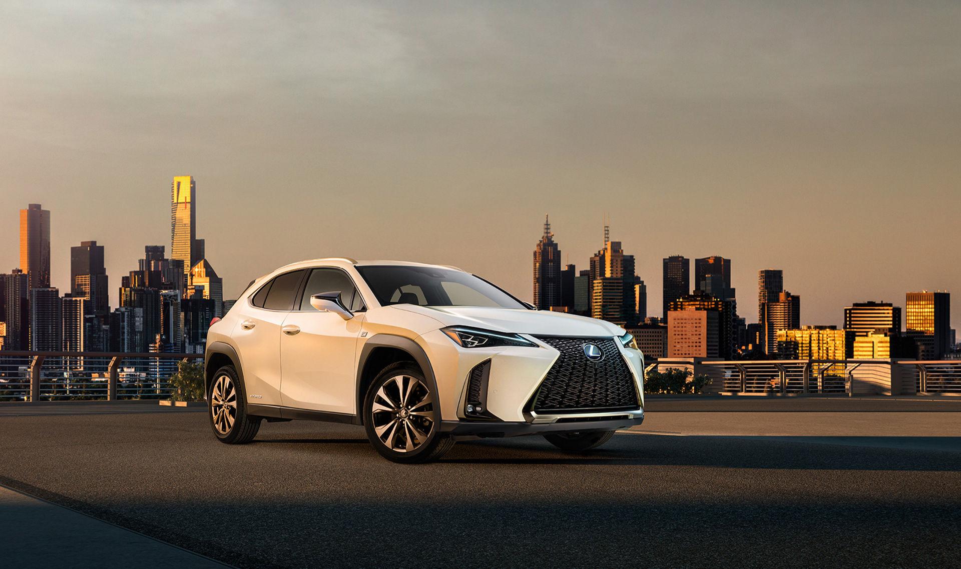 Lexus visar en bild på UX