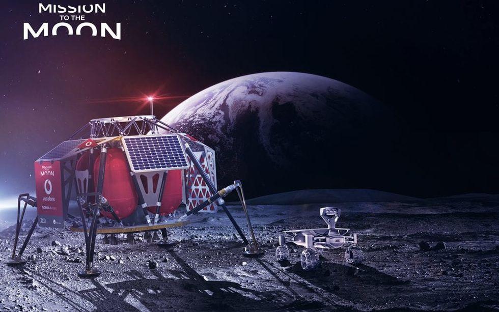 Nästa år får månen mobiltäckning