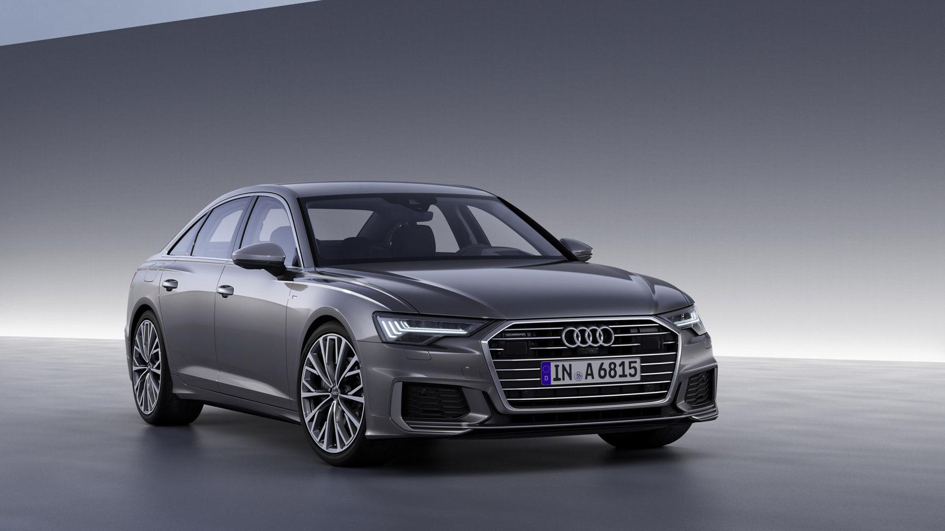 Alla motorer i nya Audi A6 är elektrifierade