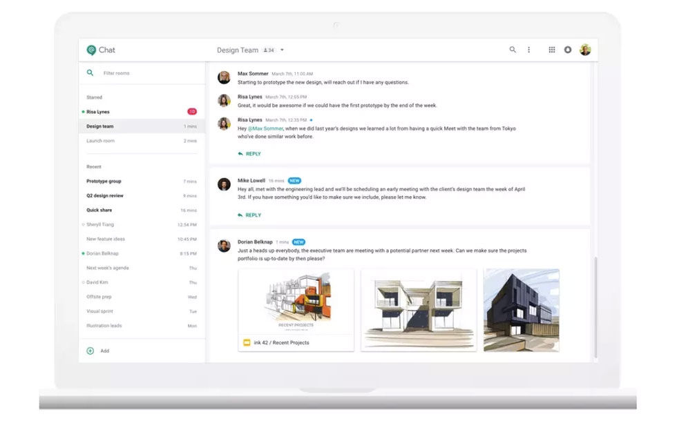 Nu släpper Google Hangouts Chat till alla företag
