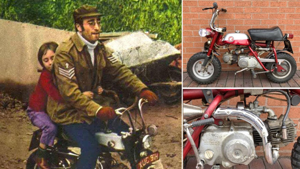 John Lennons gamla Monkeybike auktioneras ut
