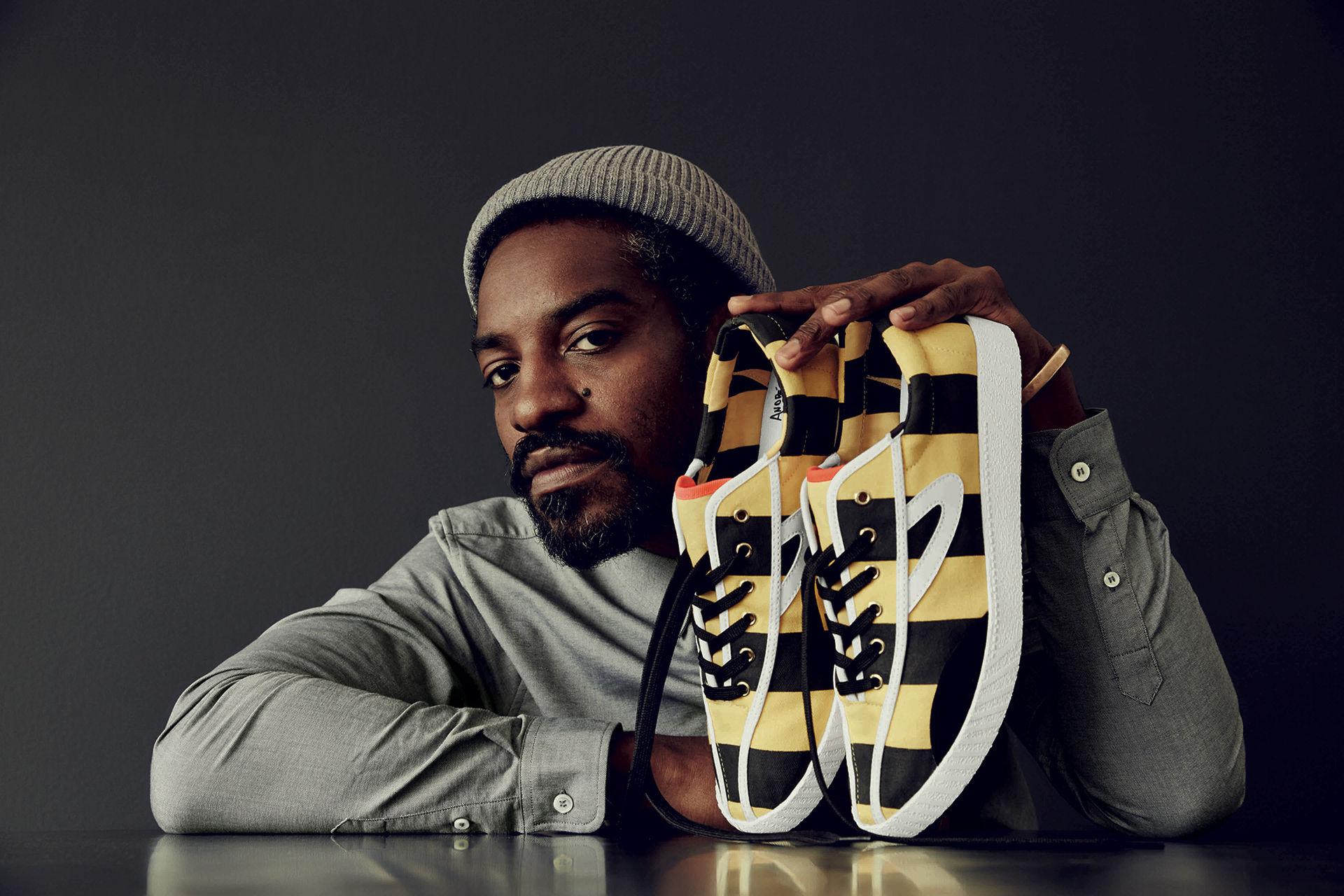 André 3000 lanserar ny sneakerskollektion