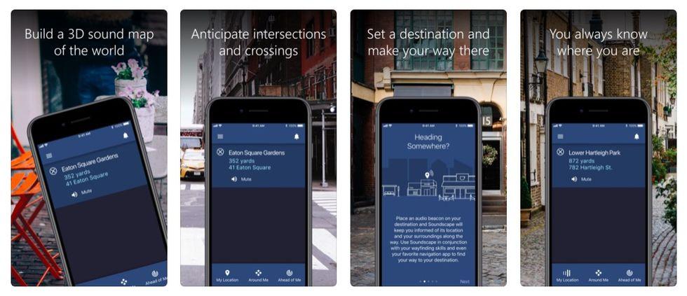 Microsoft släpper app för blinda