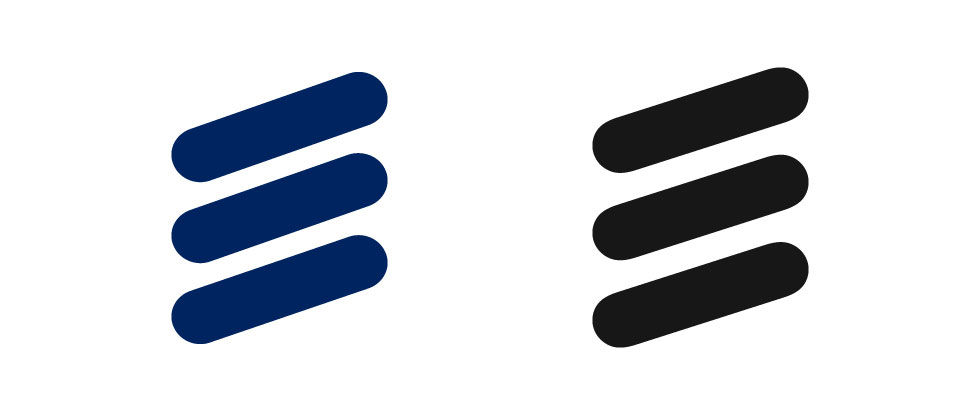 Ericsson har fixat till loggan lite