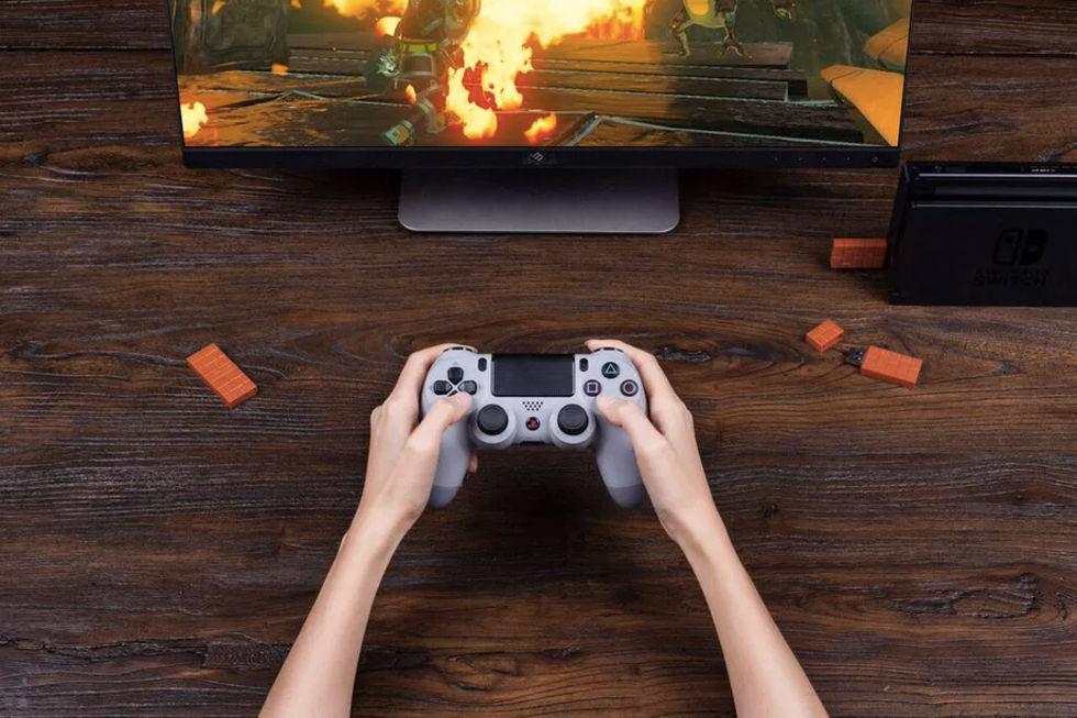 Använd PlayStation-kontroller till Nintendo Switch