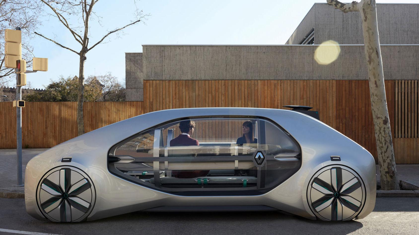 Renault visar spännande minibuss för framtiden