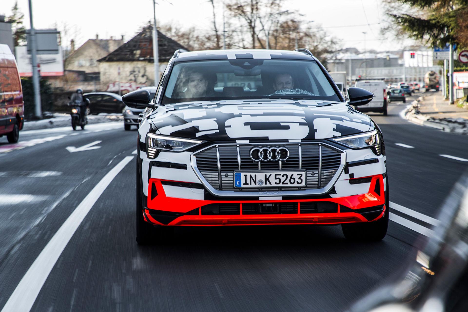 Audi förhandsvisar kommande elbil
