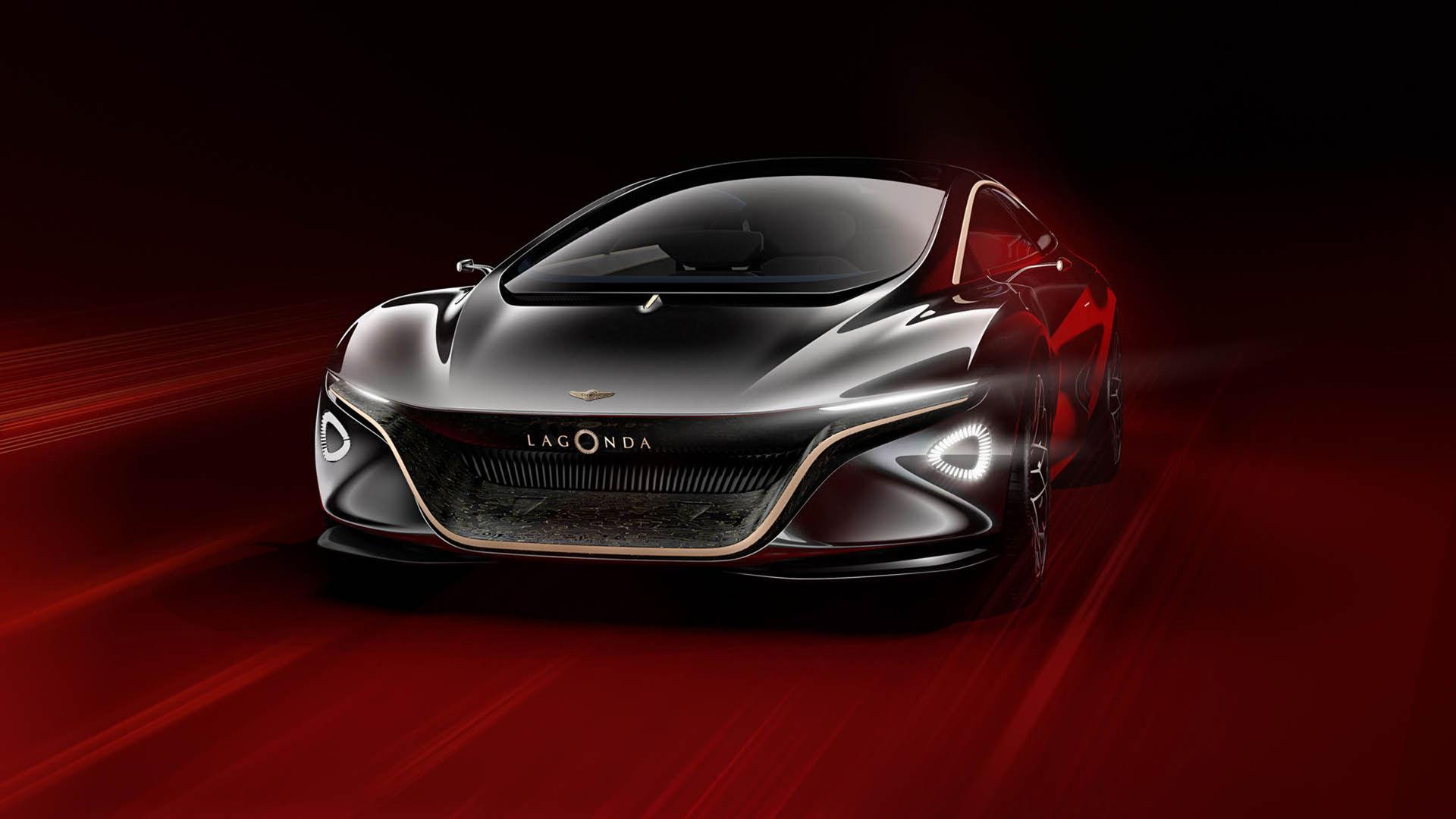 Aston Martin överraskar med eldrivet koncept