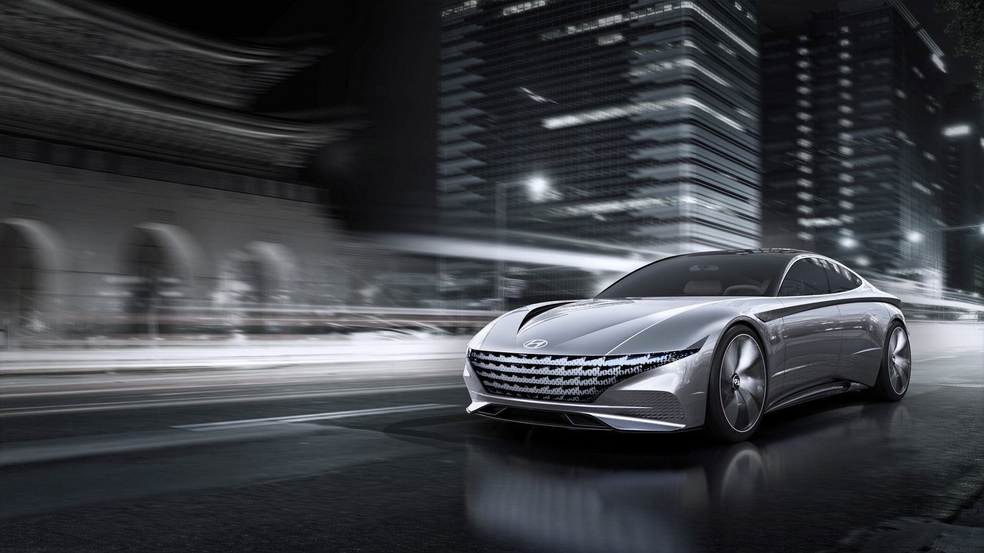 Le Fil Rouge - slank konceptbil från Hyundai