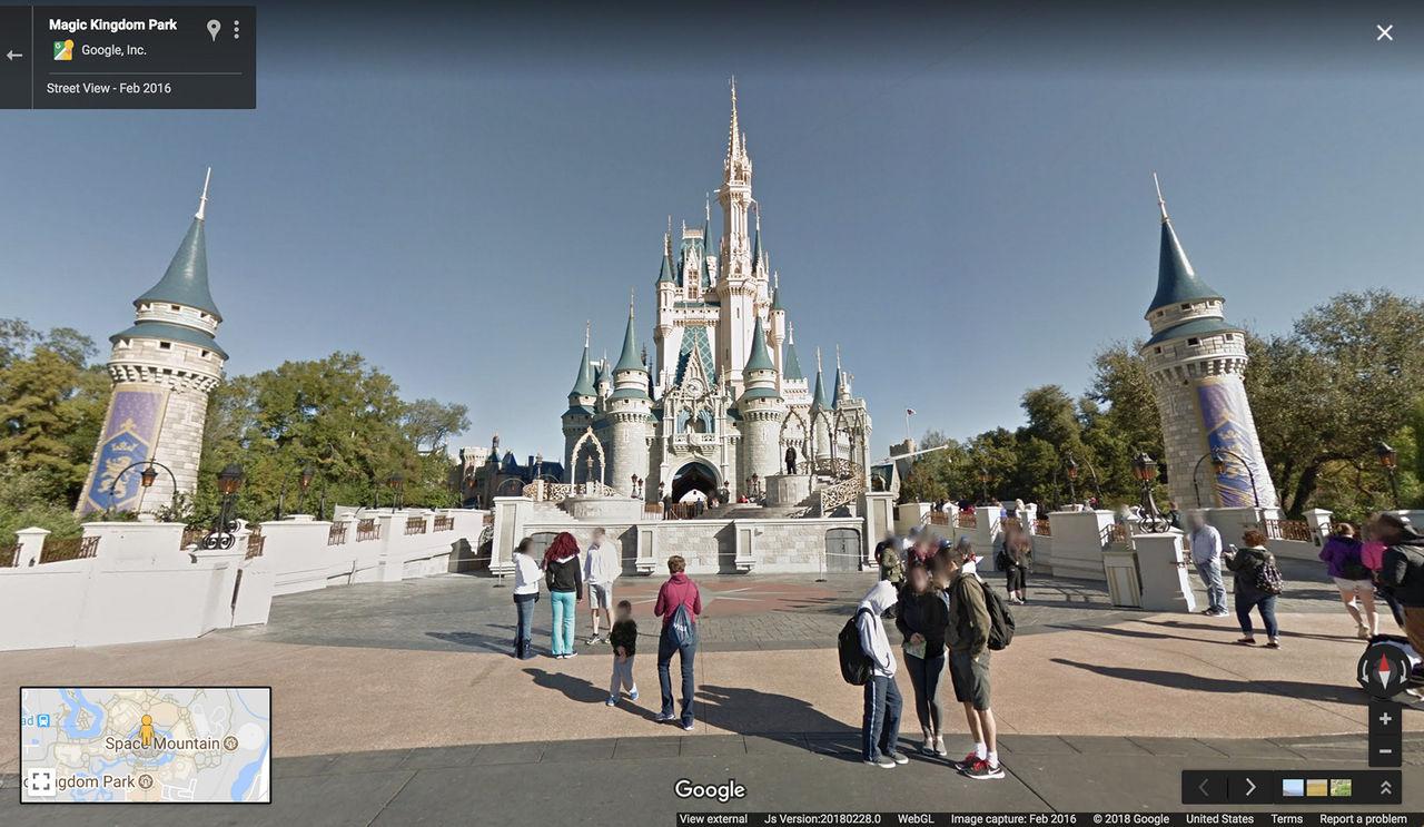 Nu kan du besöka Disneyland genom Google Maps