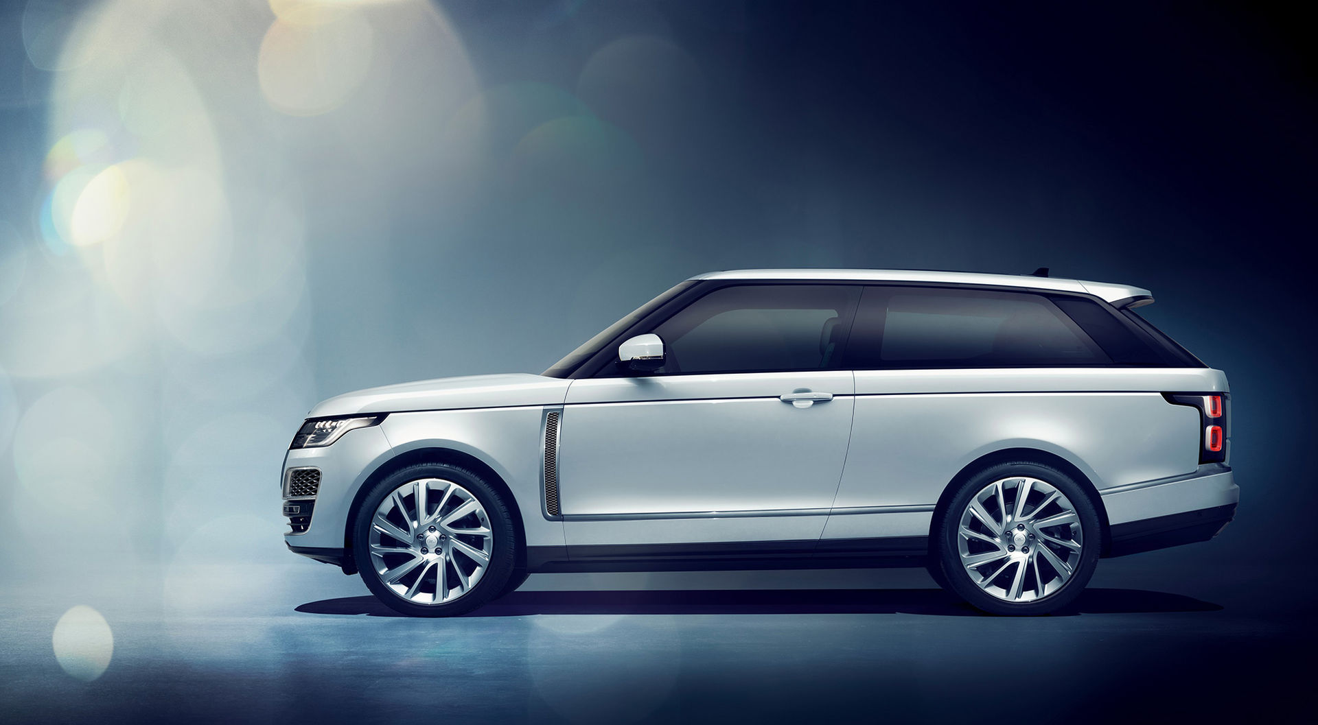 Land Rover visar Range Rover som coupé