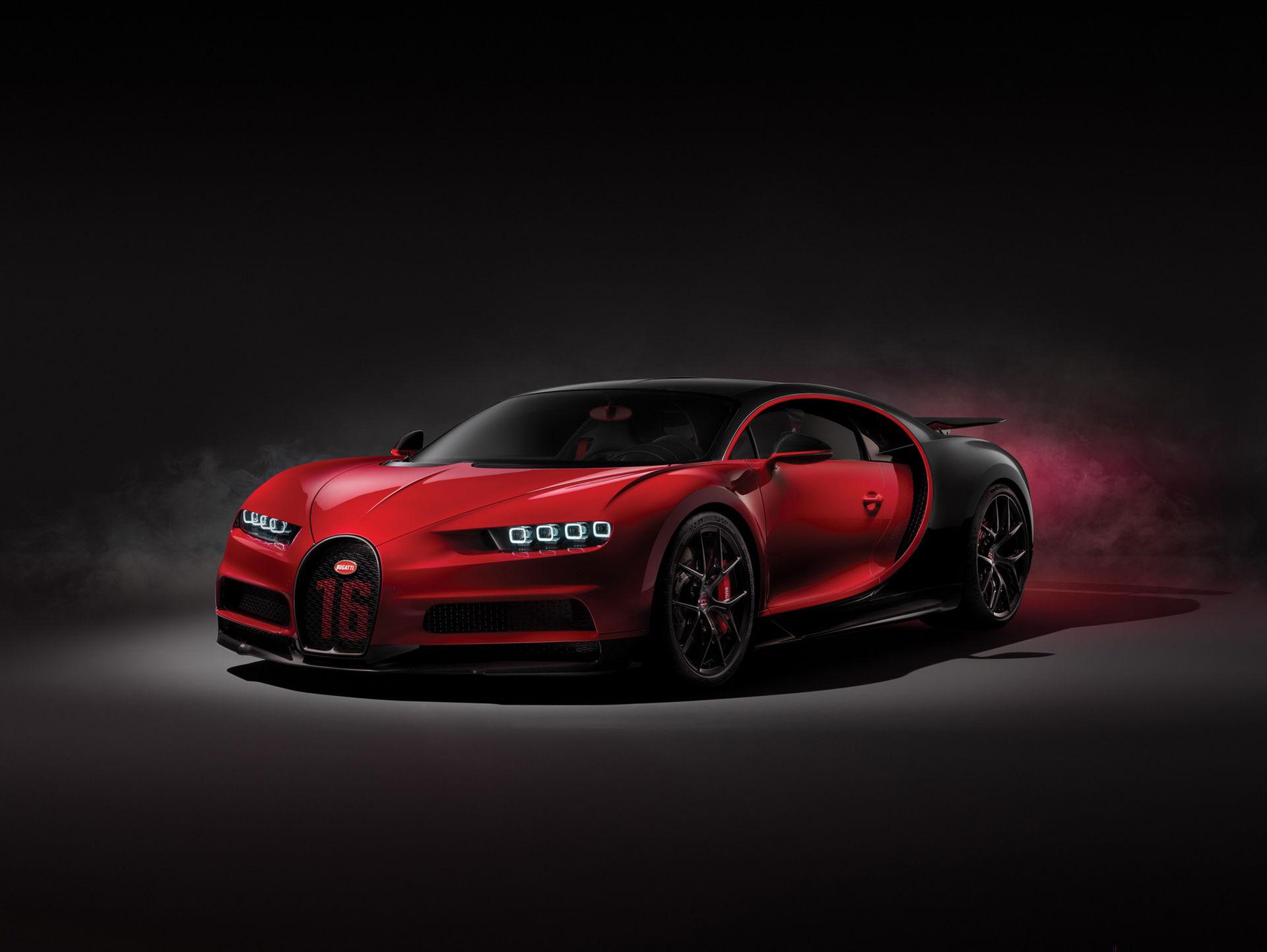 Bugatti Chiron Sport har ingen högre effekt