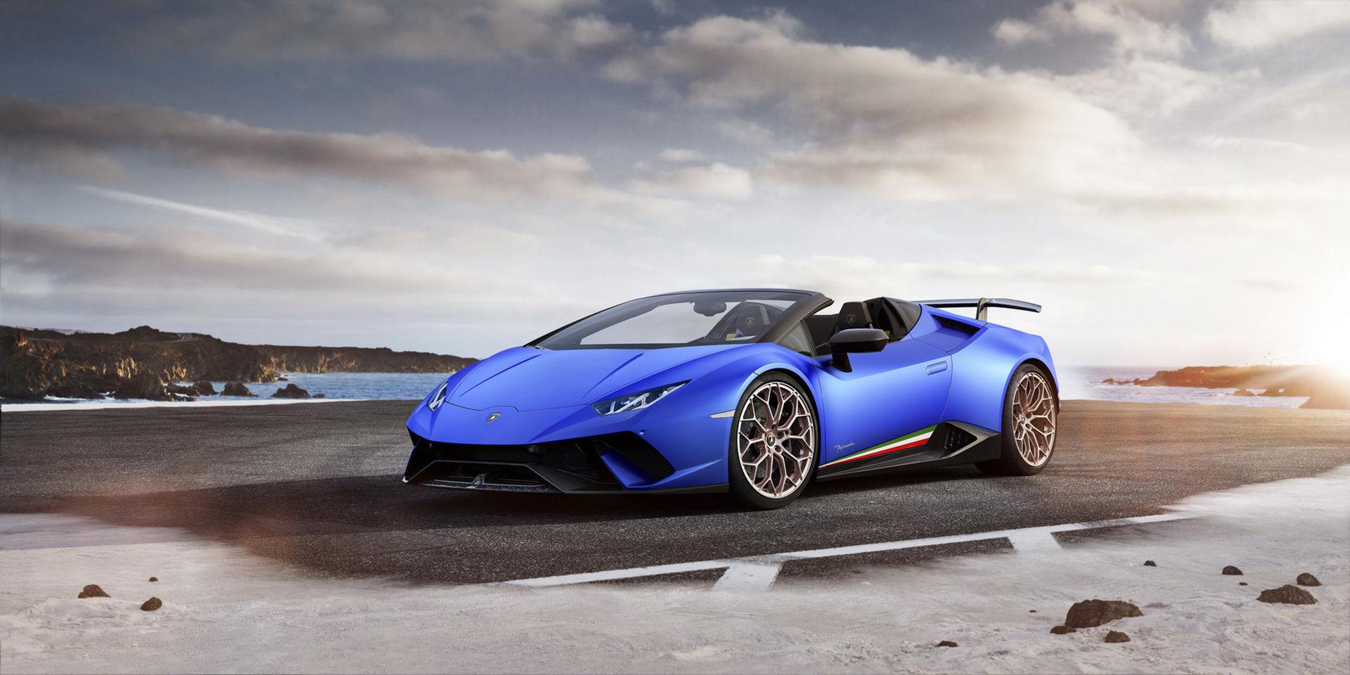 Lamborghini Huracán Performante nu med tygtak