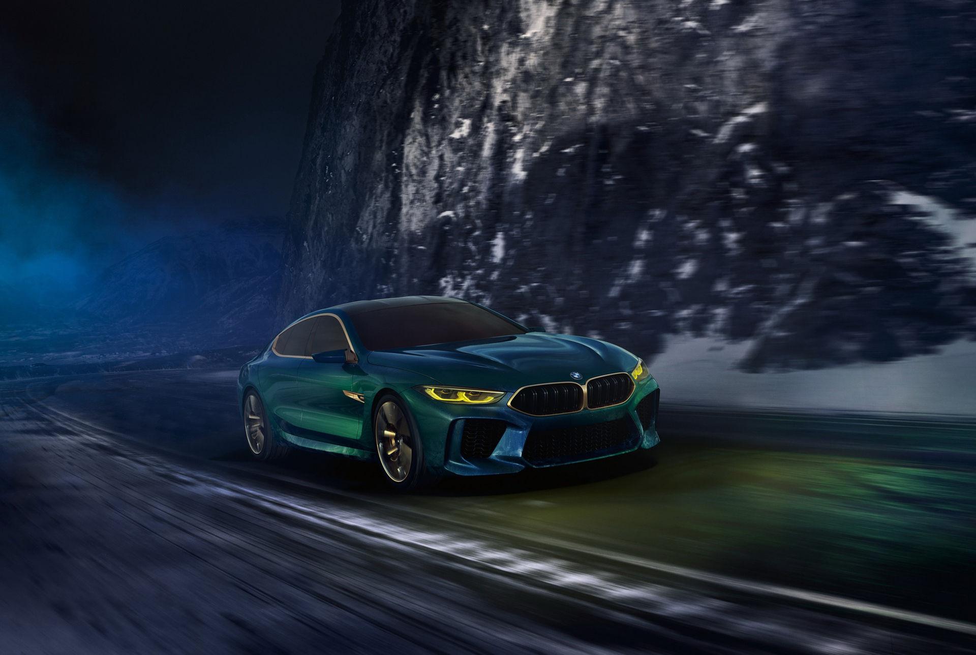 BMW M8 som Gran Coupé