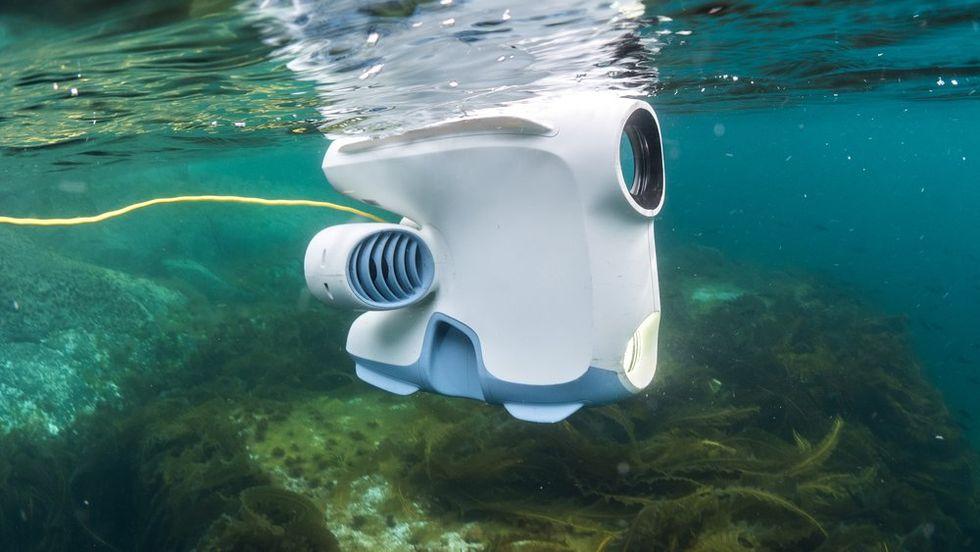 Undervattensrobot kartlägger Norges fjordar