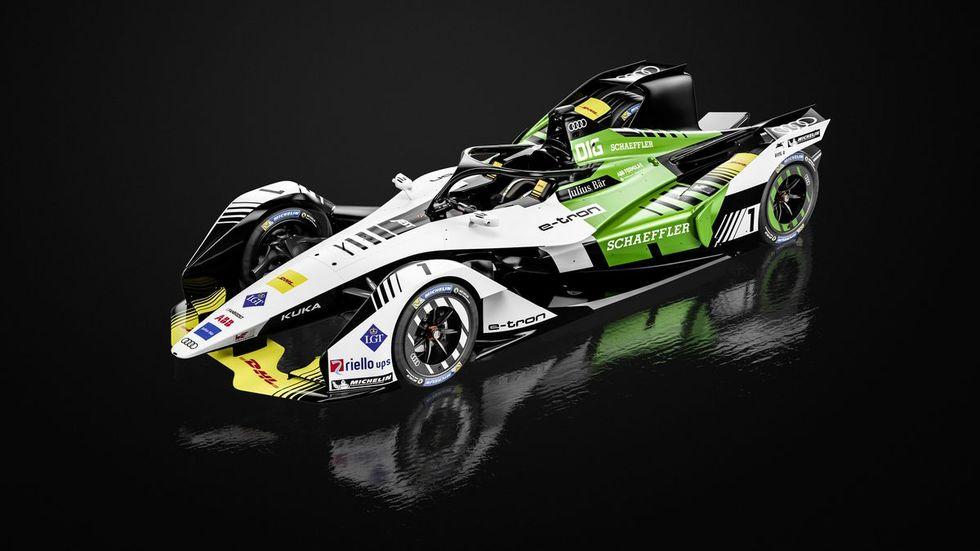 Kolla in nästa generations Formel E-bilar
