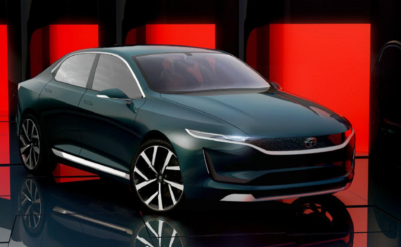 Tata visar konceptbilen EVision