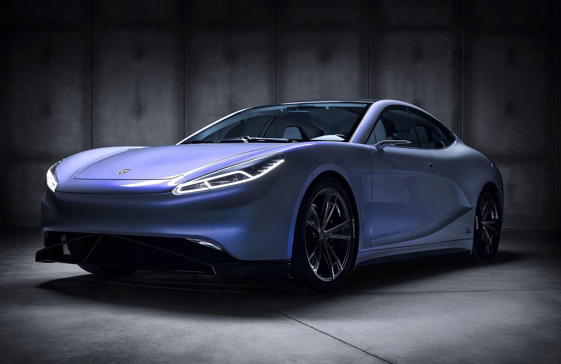 LVCHI Auto presenterar eldrivna Venere