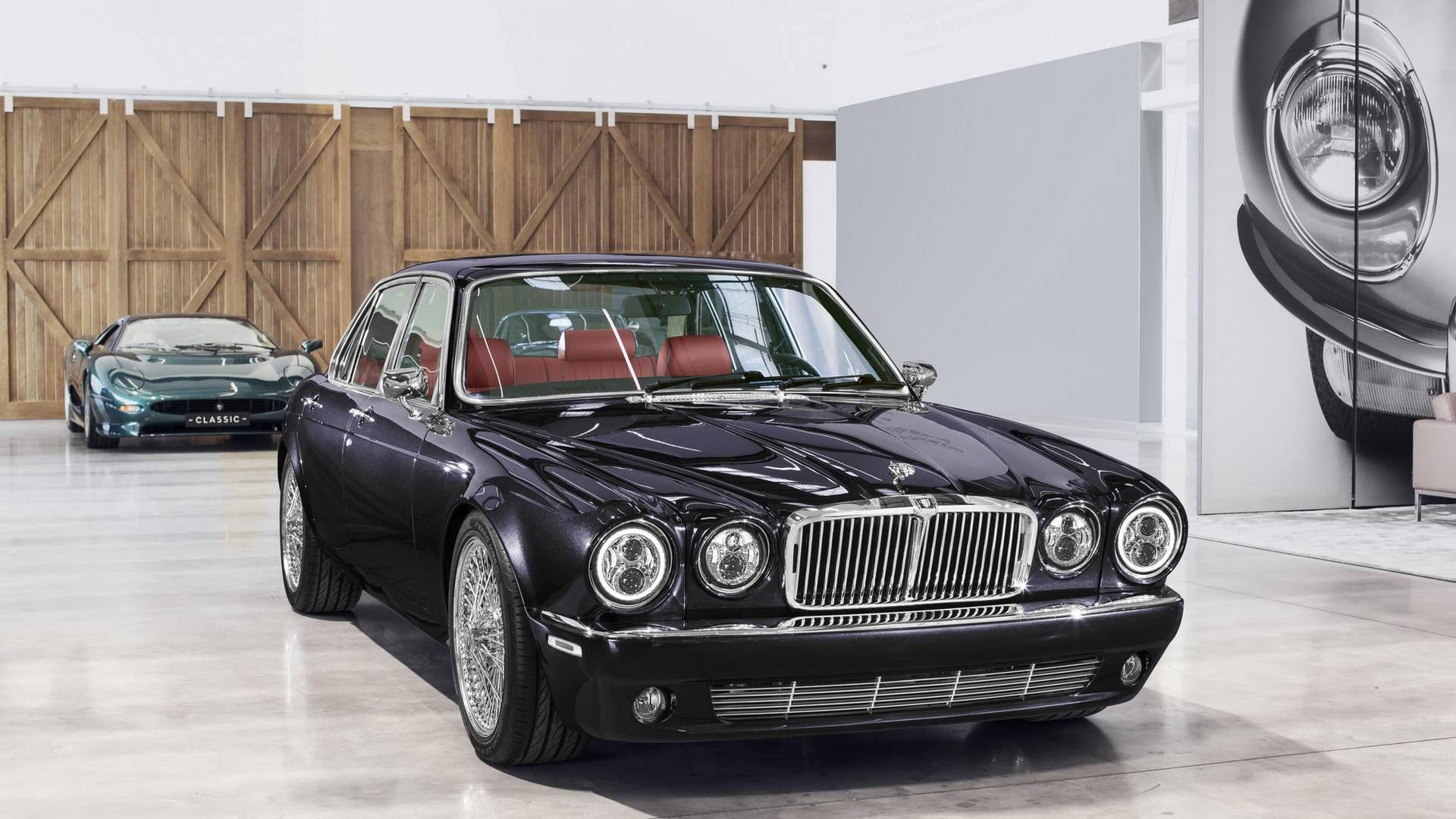 Jaguar Classic har byggt XJ6 åt Nicko McBrain