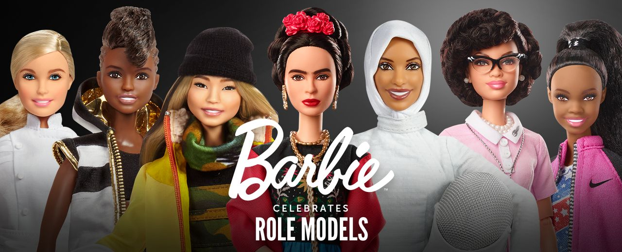 17 kvinnliga förebilder kommer som Barbies