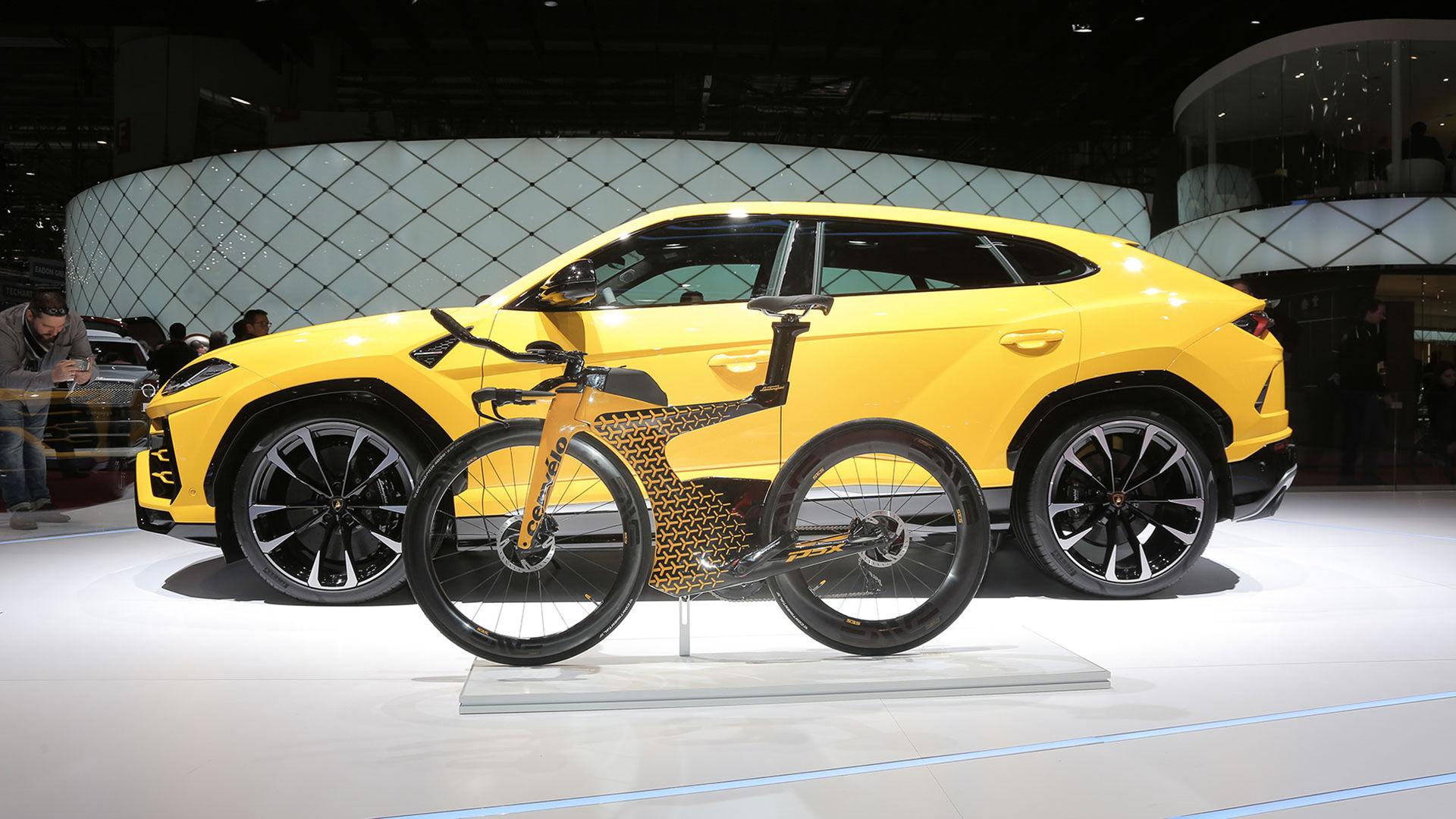 Cykel som matchar din Lamborghini Urus