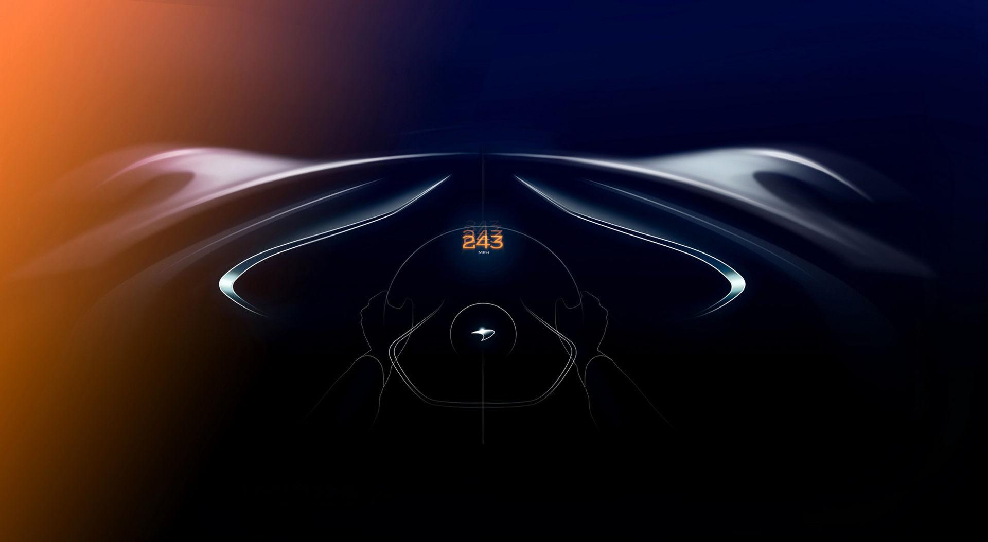McLarens nya hyperbil kommer toppa över 391 km/h
