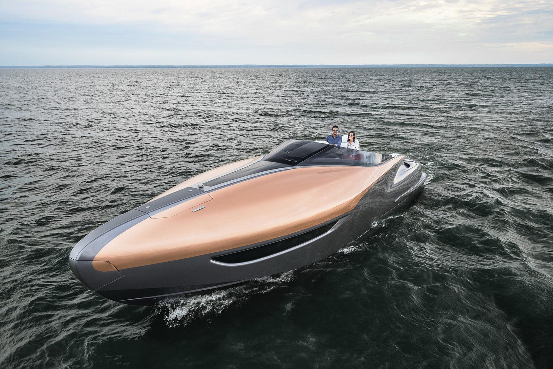 Lexus bygger båt inspirerad av tidigare koncept