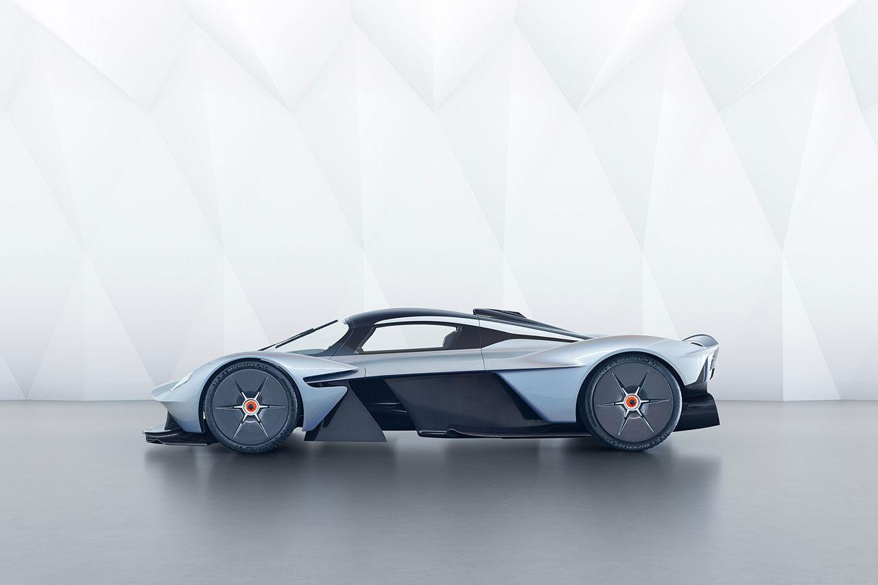Superbil med hybridteknik från Aston Martin kommer 2020
