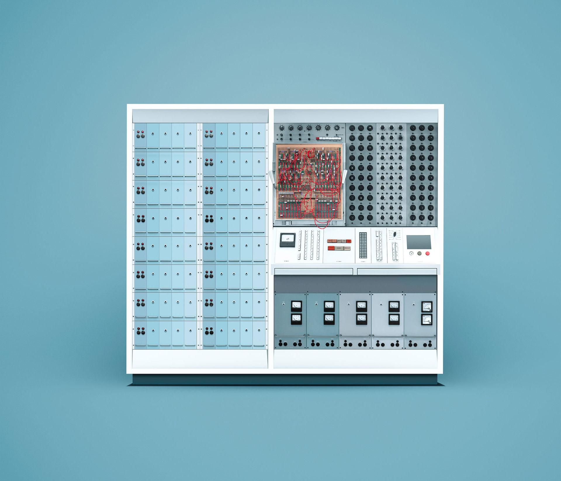 Fantastiska bilder på klassiska datorer