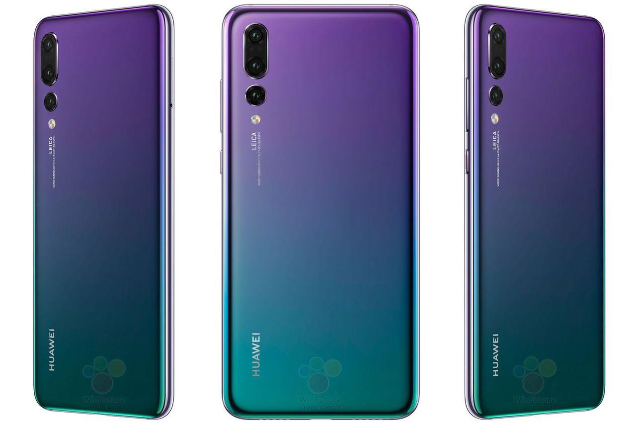 Huawei P20 Pro ser ut att släppas i fin färg