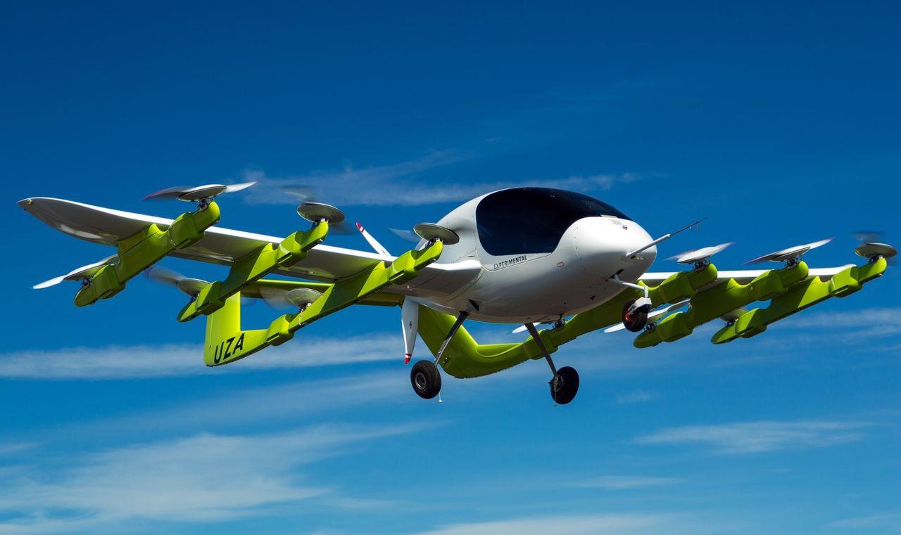 Google-grundare har tagit fram en flygande taxi