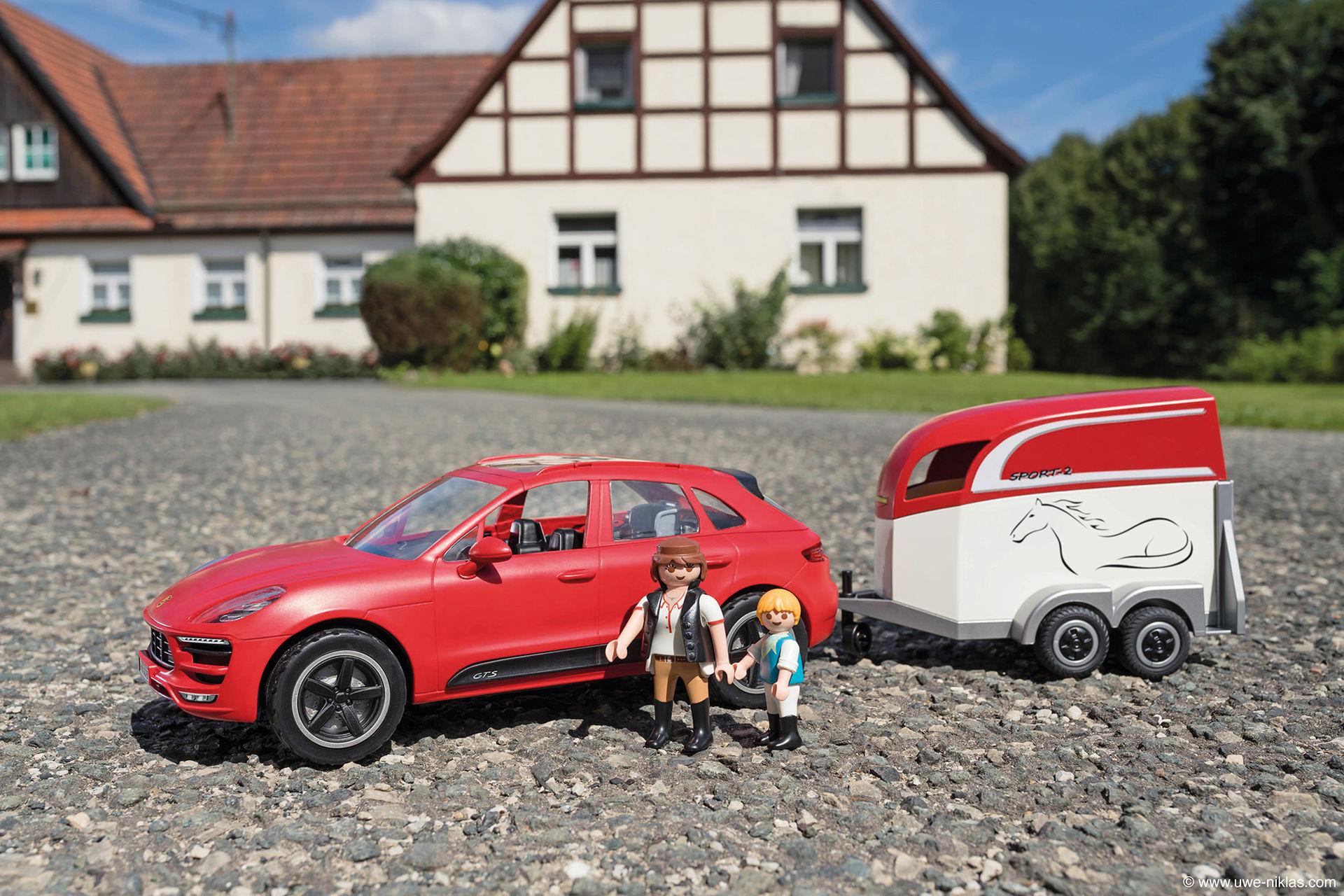 Porsche Macan GTS nu som Playmobil