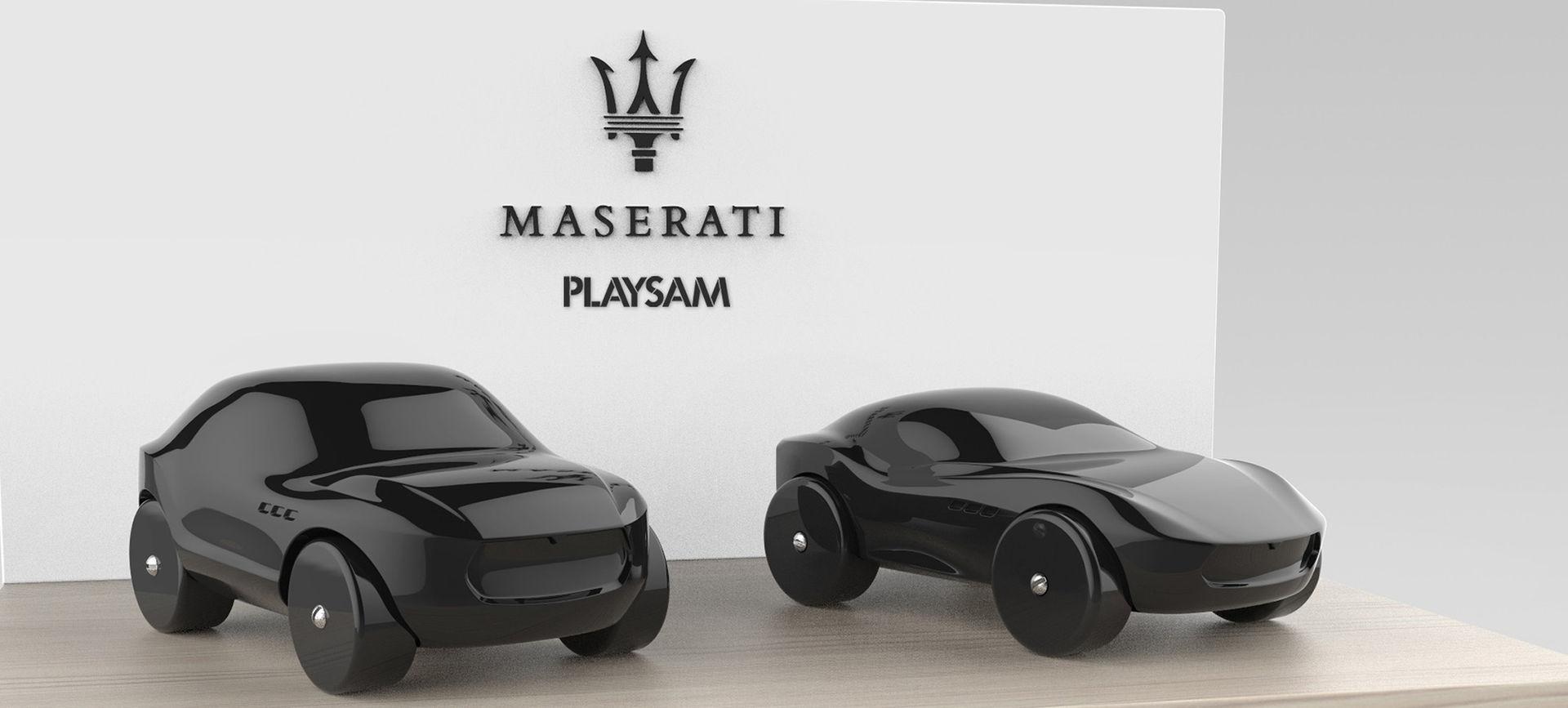Maseratibilar i trä