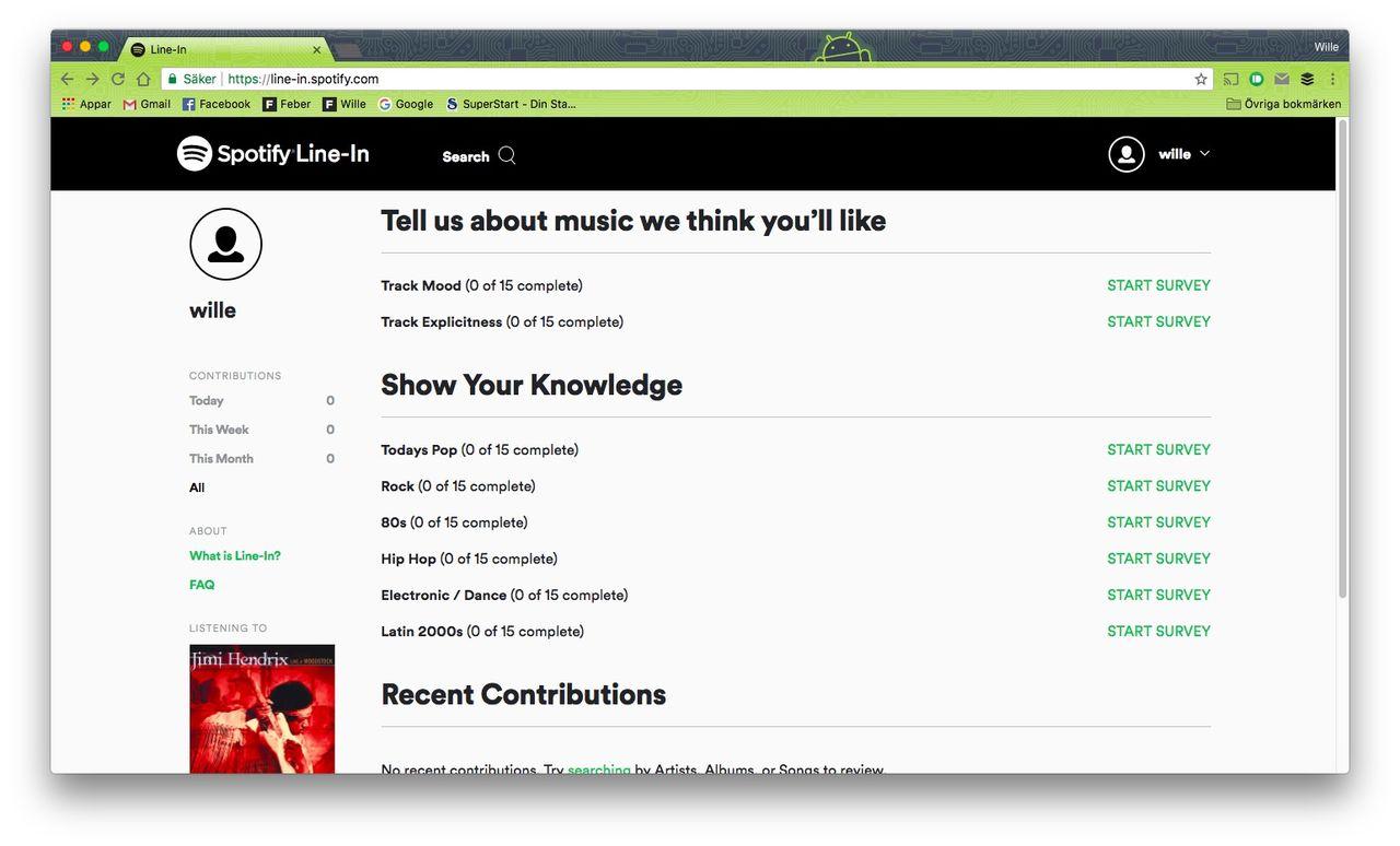 Nu kan man föreslå förändringar på Spotify