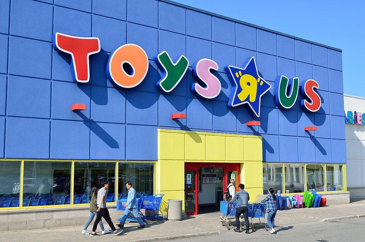 Toys R Us lägger ner butiksverksamheten i USA