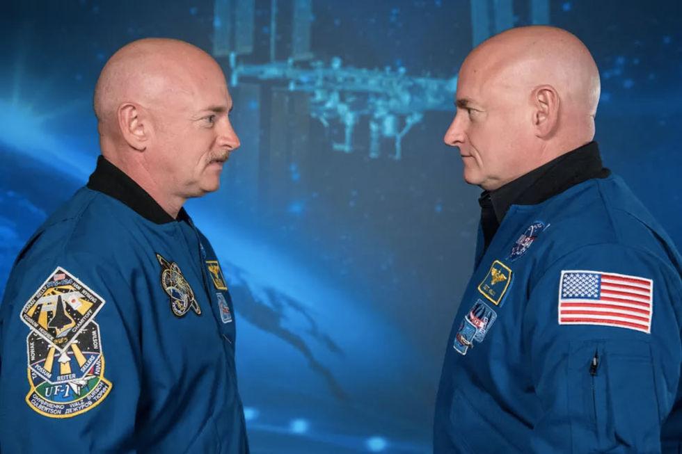 Astronaut-tvillingar har olika genuttryck