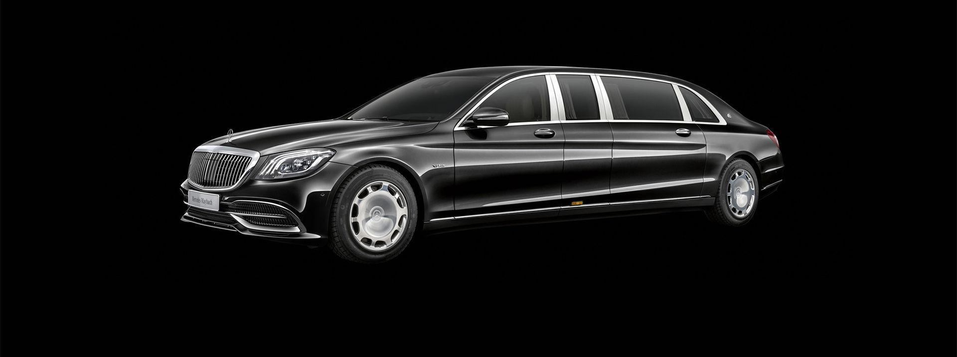 Mercedes uppdaterar Maybach Pullman