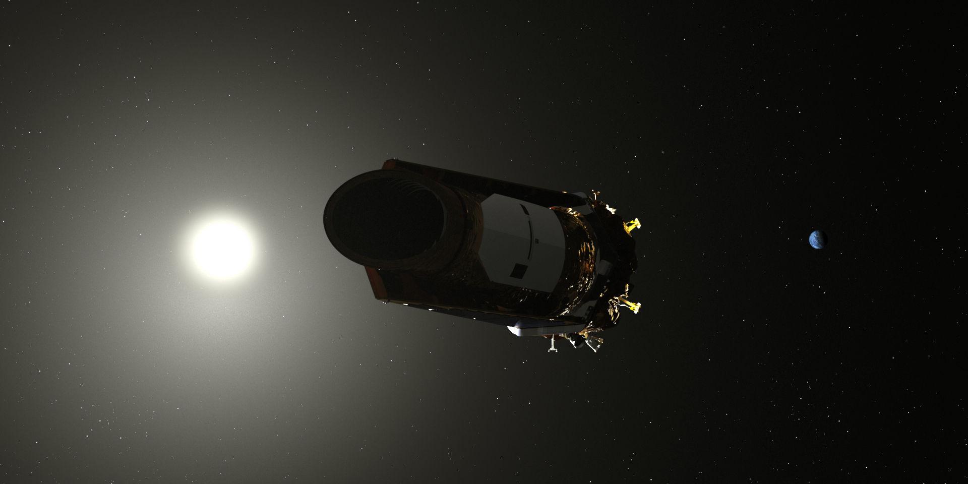 Snart dags att säga hejdå till Kepler-teleskopet