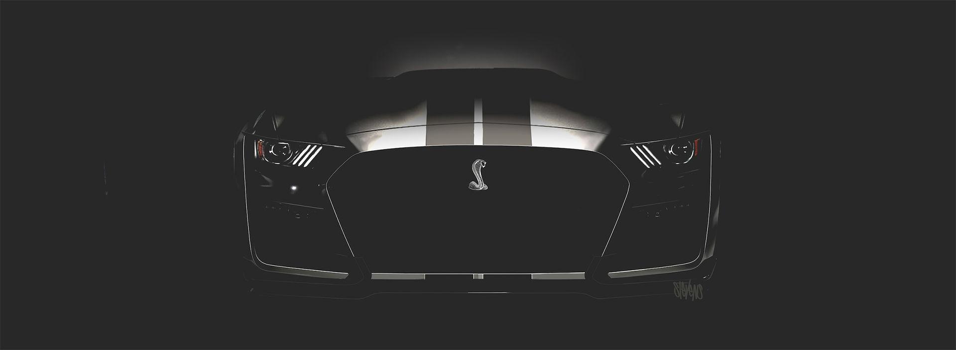 Det här är nyllet på nya Ford Mustang Shelby GT500