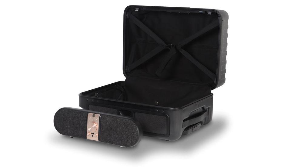 Nomadic Speakcase är en resväska med tillhörande högtalare