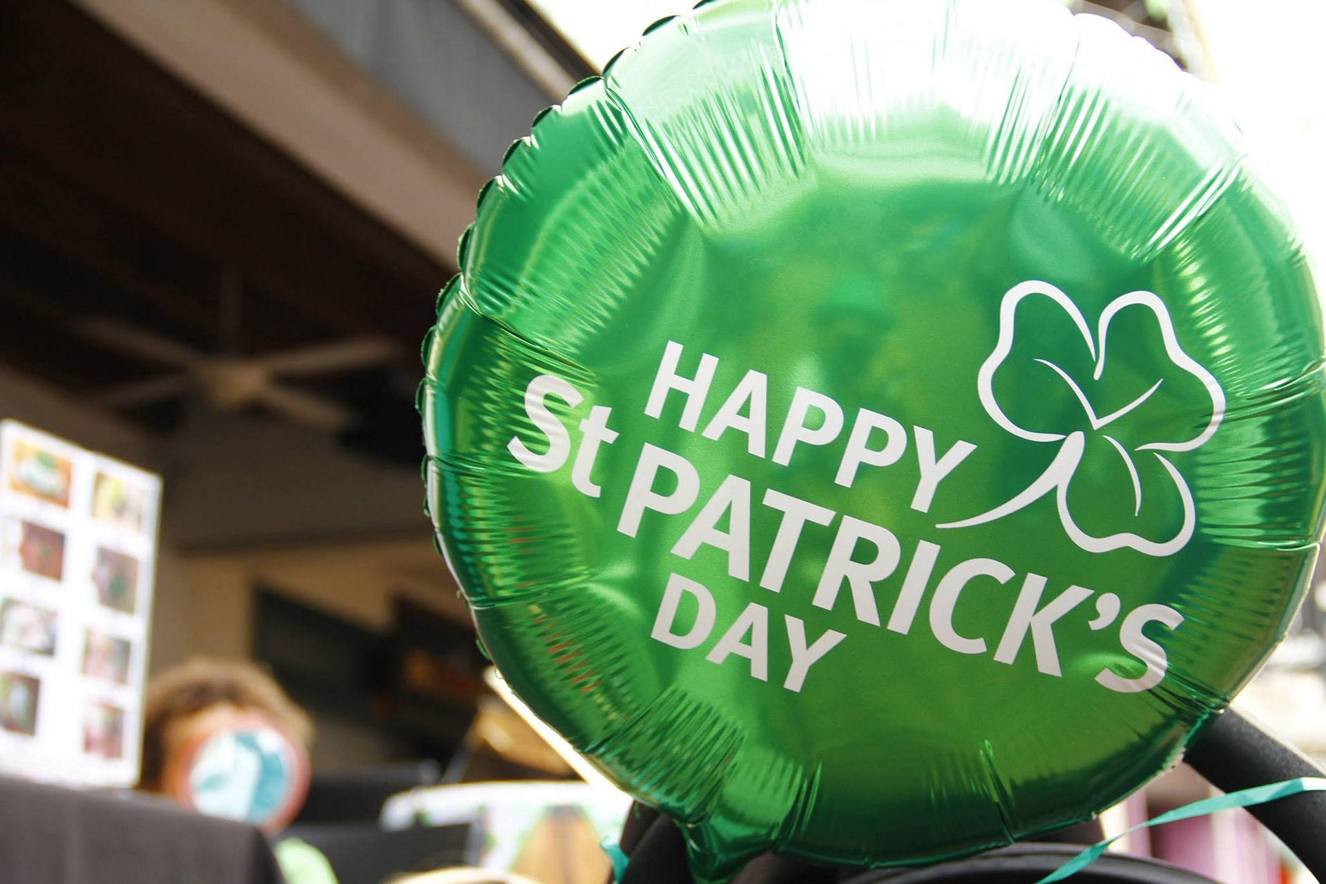 Tut i luren! Idag är det St. Patrick's Day!