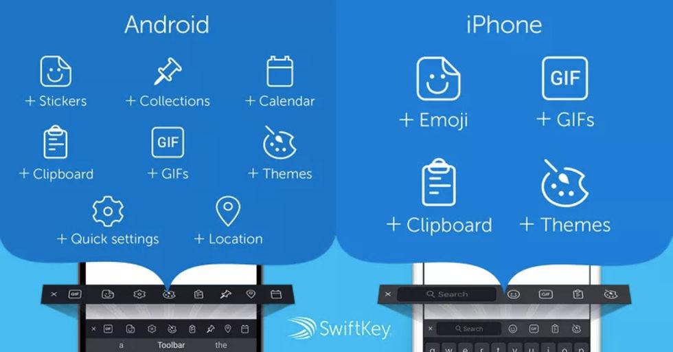 Microsoft släpper SwiftKey 7.0