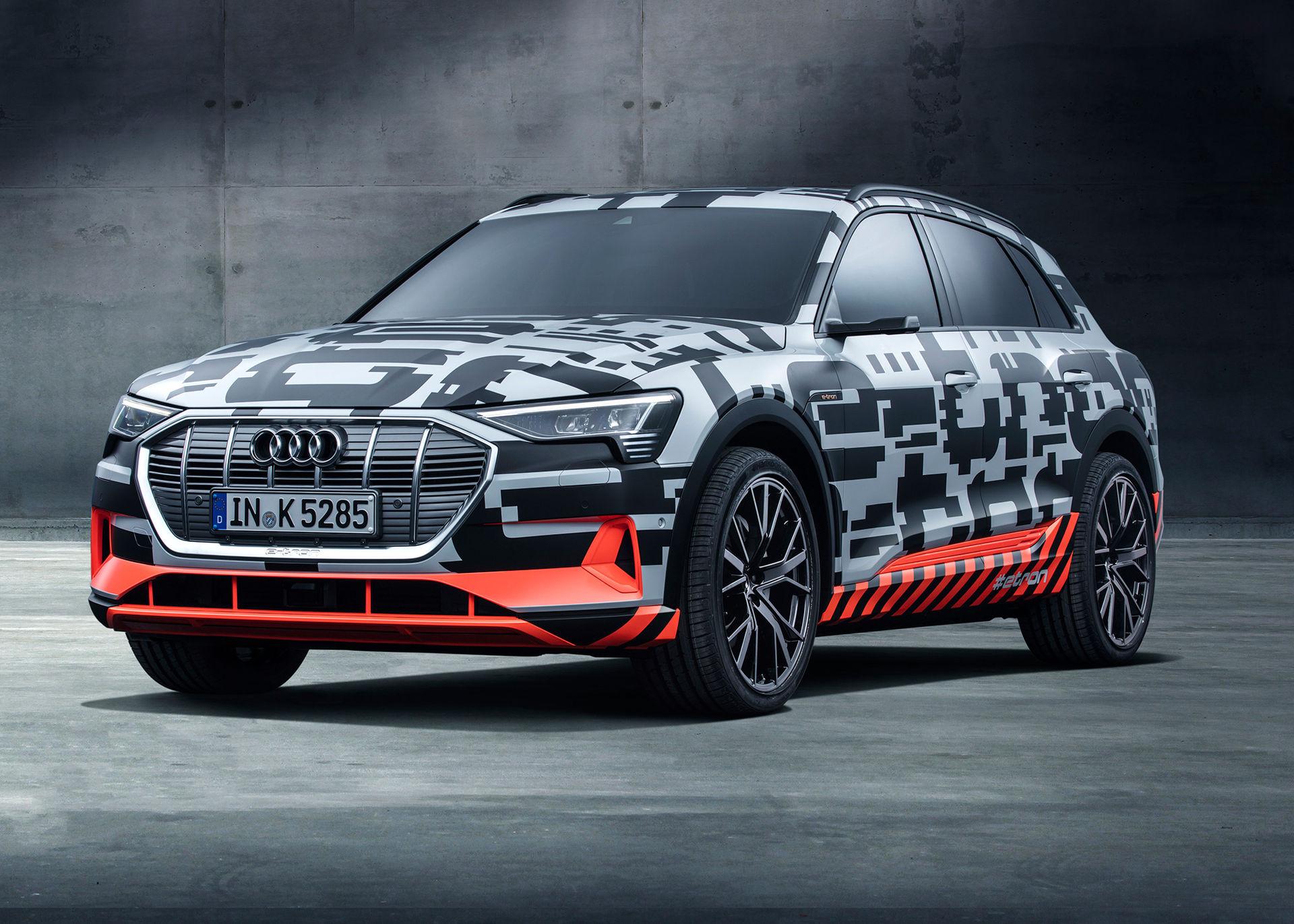 Nu kan du förhandsboka Audis första elbil