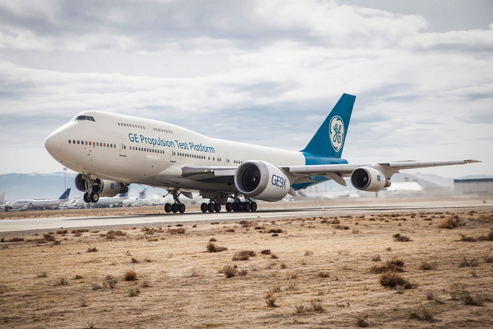 Världens största flygplansmotor testad