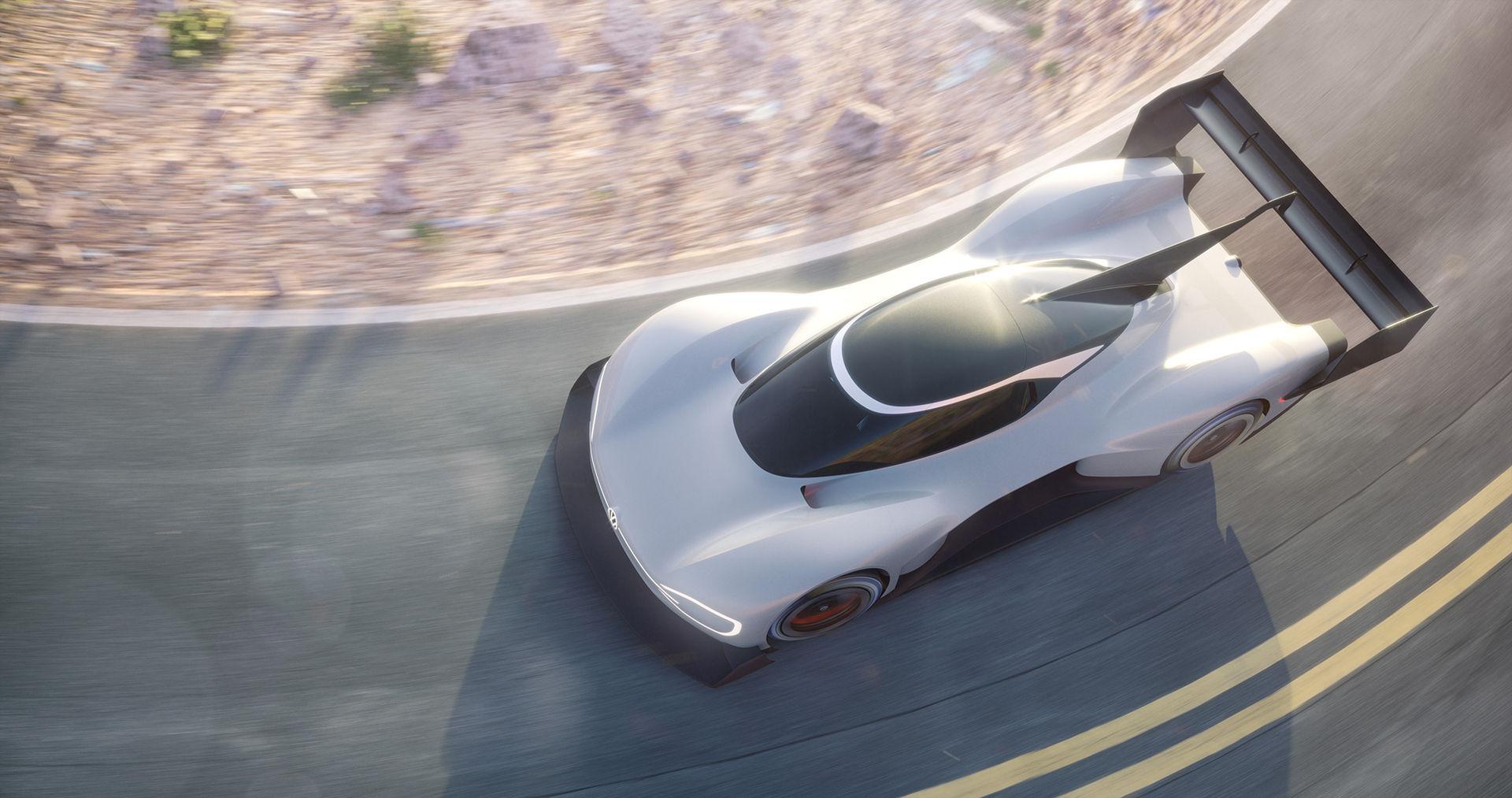 Volkswagen ska tävla med elbil i Pikes Peak