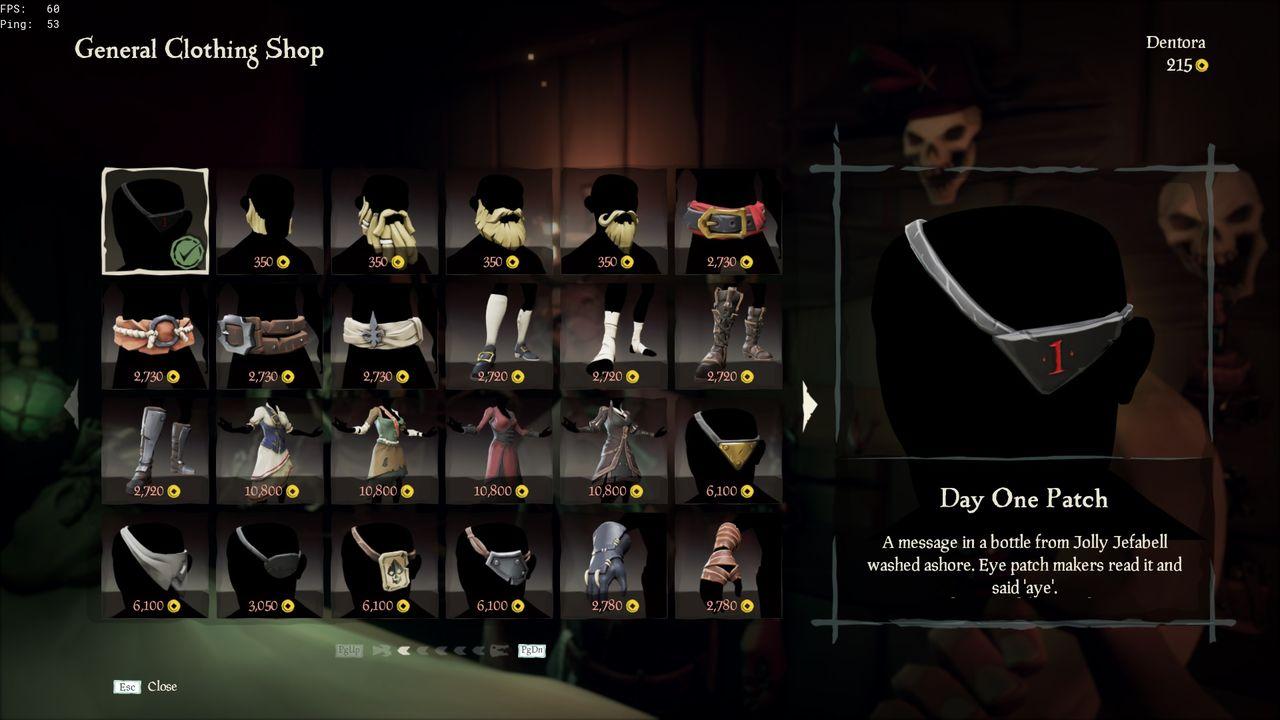 Sea of Thieves har en episk förstadagspatch